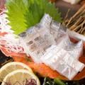 太刀魚のお刺身他おすすめ5品を食べよう