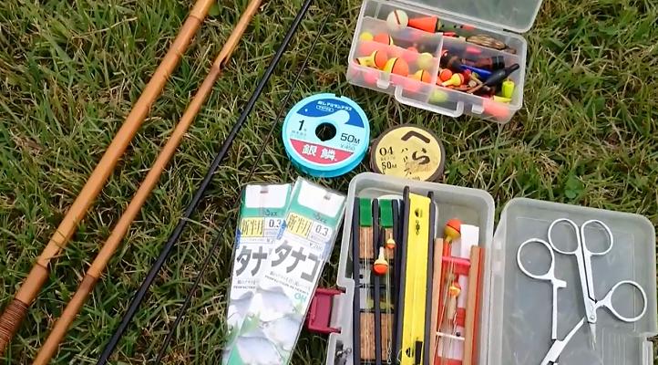 タナゴ釣り仕掛けと準備を8項目で解説